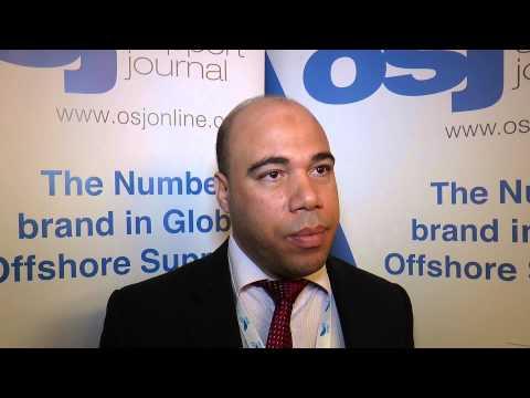 Ibrahim Fahmy Marine Advisor at ZADCO speaks to OSJ in Dubai