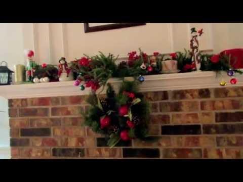 Украшение дома на Новый год и Рождество - загляниите в мой дом