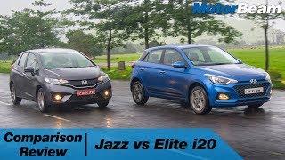 Honda Jazz vs Hyundai Elite i20 - Which One Is Better? | MotorBeam