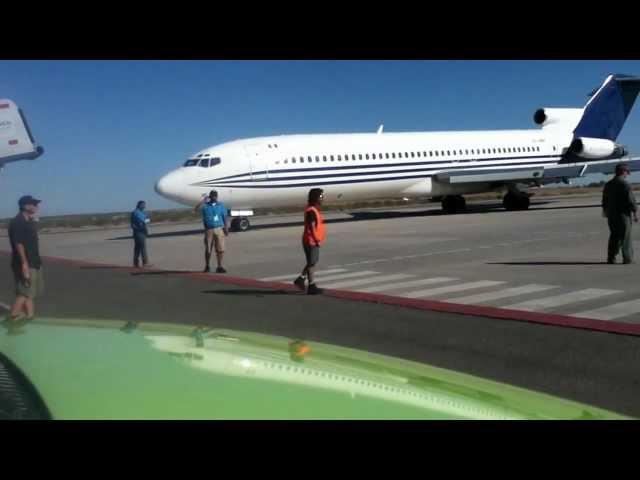 ultimos minutos del boeing 727 salida para su aterrizaje forsozo