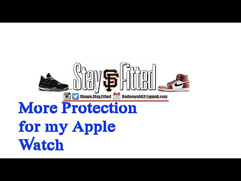 Apple Watch TPU Bumper Case With HD Protective Screen Unboxing and Review