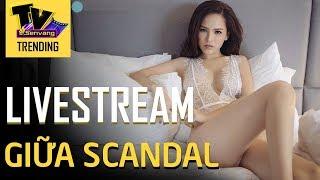Phi Huyền Trang livestream về scandal lộ clip nóng