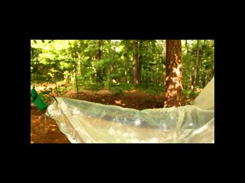 DIY Backpacking-Hammock Rain Tarp