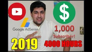 How to Gain 1000 Subscribers and 4000 Hours Watch Time (5 Tips) | 2019