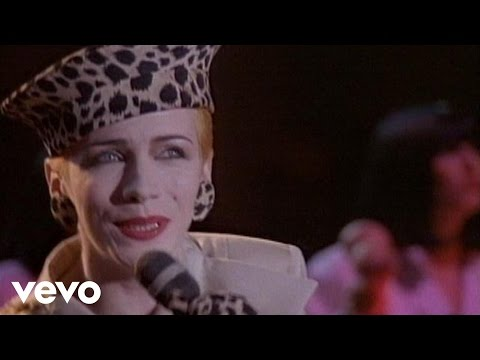 Eurythmics - Right By Your Side (live)