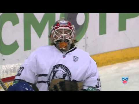 Top 10 KHL saves for Barry Brust so far / Лучшие сэйвы Барри Браста на данный момент