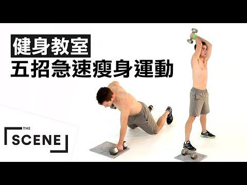 健身教室|五招急速減重法!這樣動下去就一定會瘦的!