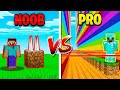 MINECRAFT NOOB vs PRO: DEATH RUN!
