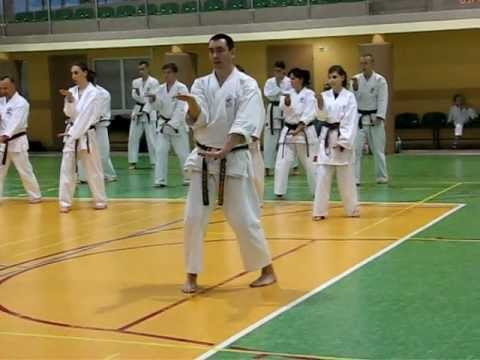 Kururunfa Kata, Slow !!! - Seminarium Goju Ryu Karate Do Seiwa Kai, Marki, Poland 2011. video