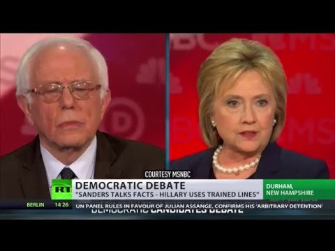 N. Korea, not Russia: Sanders argues with Clinton over global threat source