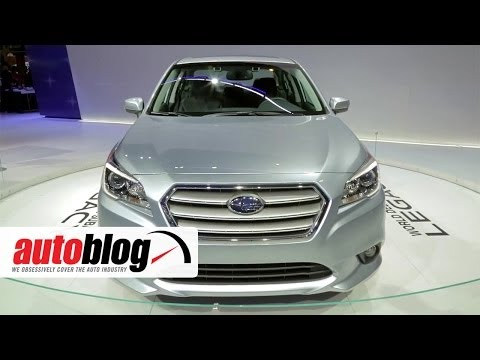 2015 Subaru Legacy at the 2014 Chicago Auto Show | Autoblog