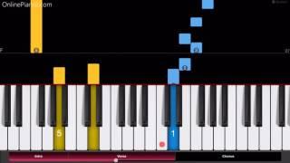 Sword Art Online II - Ignite - Piano Tutorial - Easy Version