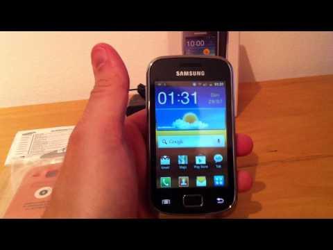 Unlock Samsung Galaxy Mini 2, S6500, S6500D by USB