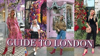 THE INSTAGRAM TRAVEL GUIDE TO LONDON | London Travel Vlog 2018
