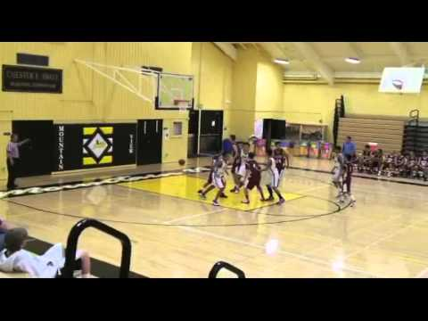 Thomas Pasetta 2009/10 Santa Clara High School Basketball Highlights