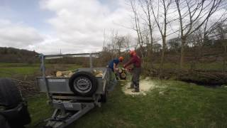Truncator Trailer Tipper - 45 minute trailer fill