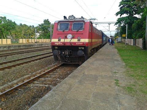 RPM WAP4 Kanyakumari - Bangalore Island Express