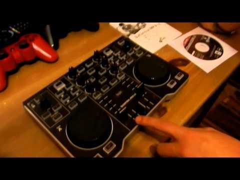 Unboxing mesa de mezclas Hercules DJCONTROL MP3 LE