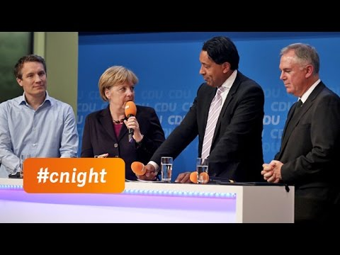 #cnight: Talk mit Angela Merkel