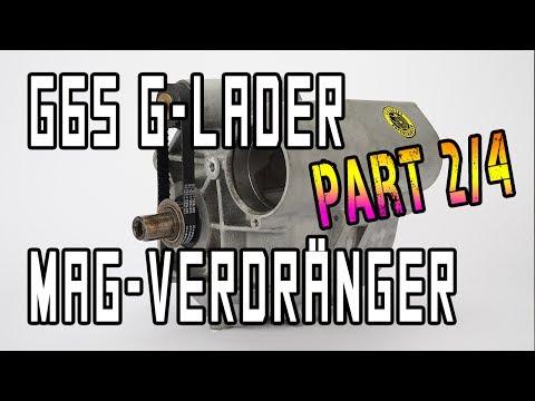 G65 Lader mit Prototyp-Magnesium-Verdränger Teil 2 | www.g65-lader.de