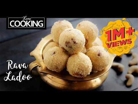 Rava Ladoo | Sooji Ladoo | Quick Indian Sweets