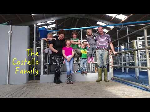 New rotary milking parlour changed life on Costello Dairy Farm!