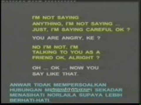 Skandal Seks Anwar Ibrahim - Norlaila