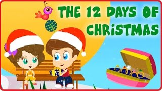The Twelve Days Of Christmas | Christmas Carol For Tiny Tots With Tim & Tia