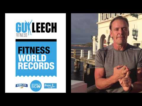 Guy Leech World Fitness Records Manly No2