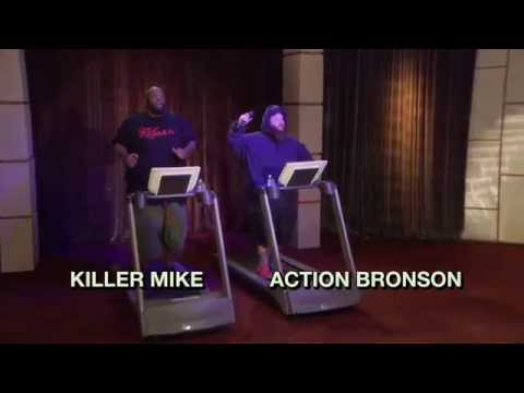 Action Bronson & Killer Mike On 'The Eric Andre Show'