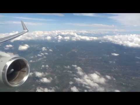 American Airlines Boeing 757 Takeoff from San Jose, Costa Rica