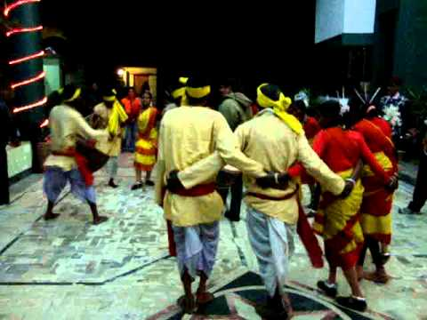 Traditional Folk Dance Santali Assam India (bankura) video