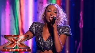 Kiera Weathers performs Katy B's Crying For No Reason | Live Week 1 | The X Factor 2015