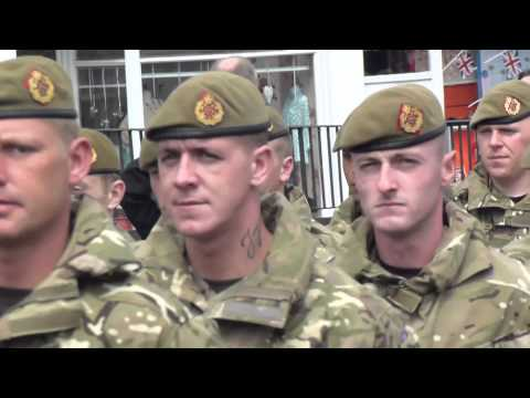 Heroes Parade  - Duke of Lancaster 1st  - Burnley