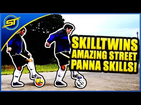 Amazing Twins Street Football Skills - Panna & Freestyle video