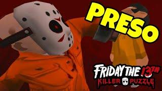 O Jason foi preso Friday the 13th