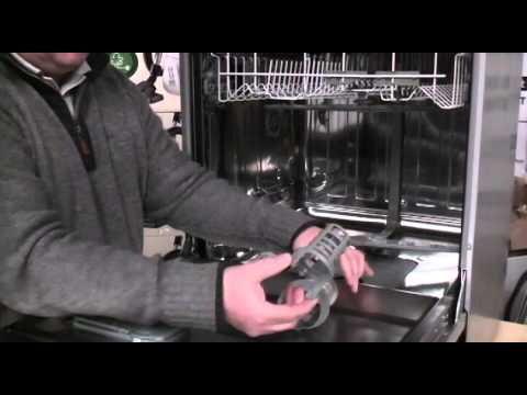 how to clean bosch dishwasher float