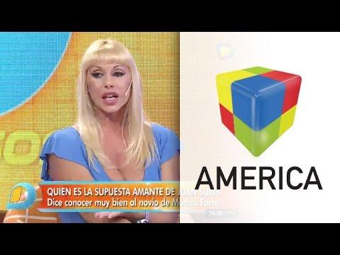 ¿Qué dijo Mónica Farro sobre el rumor de la amante de Juan Suris?