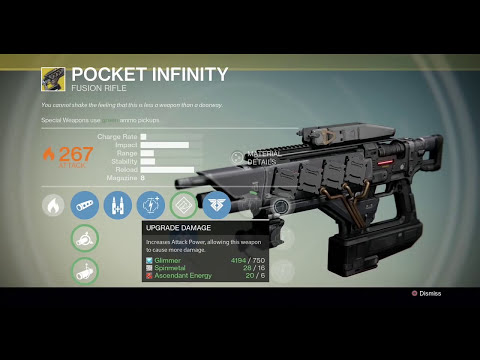 Exotic Weapon Bounty Guide - Pocket Infinity - Shattered Memory Fragment
