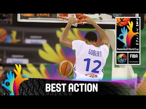 France v Brazil - Best Action - 2014 FIBA Basketball World Cup