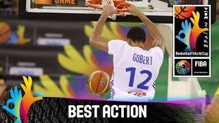 France v Brazil - Best Action - 2014 FIBA Basketball World Cup
