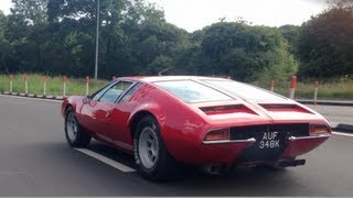 De Tomaso Mangusta Noise and Acceleration!