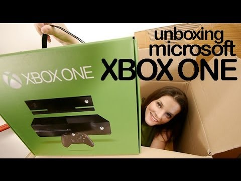 Xbox One unboxing preview