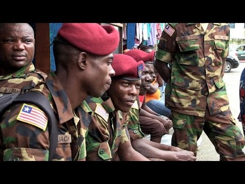 Liberia security transition completed with cautionary note