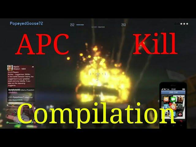 APC Kill Compilation #1 GTA 5 Online