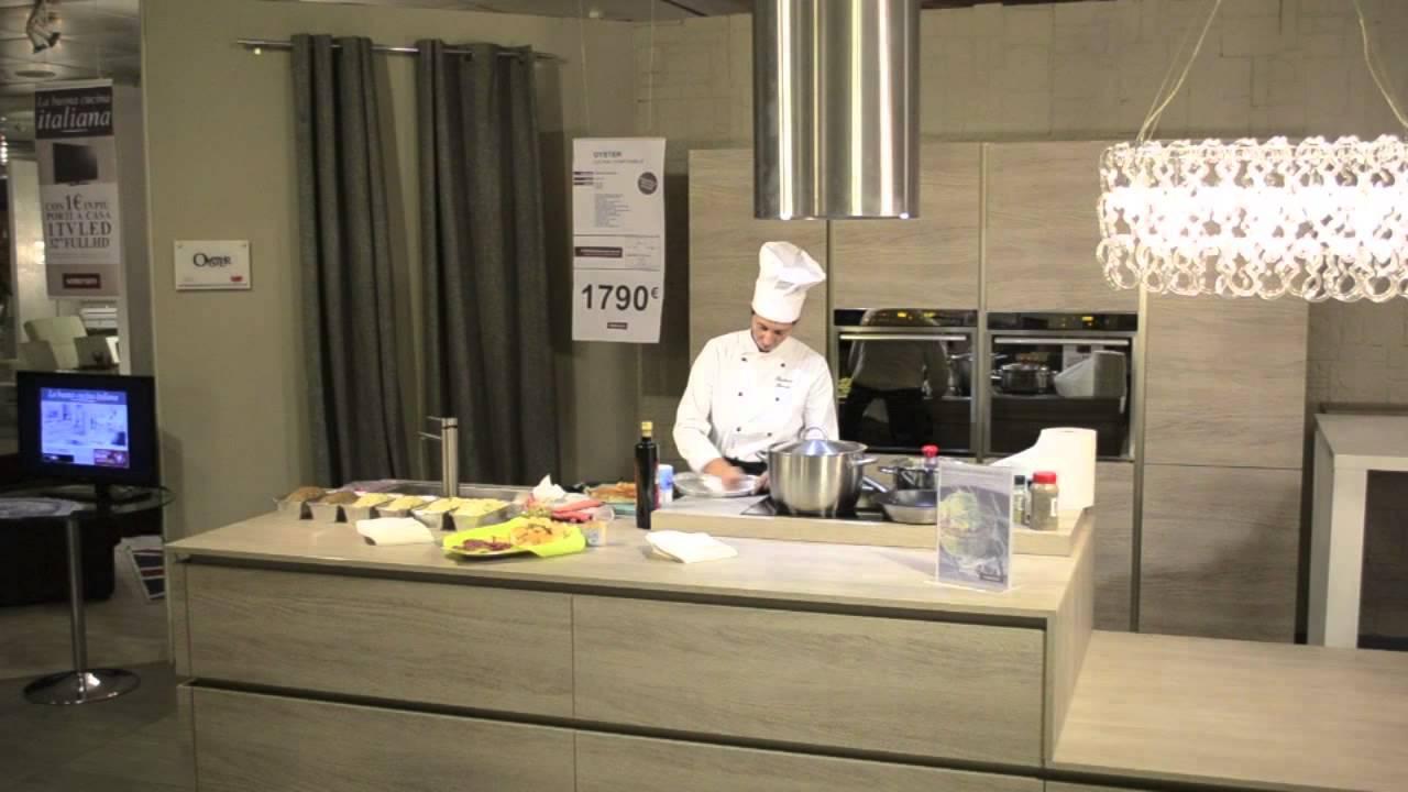 Semeraro show cooking 5 10 2013 youtube - Semeraro mobili brescia ...