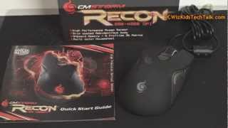 Cooler Master Storm Recon Gaming Mouse Review