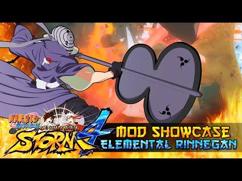 Tobi X Elemental Rinnegan ReBirth!!! Naruto Shippuden Ultimate Ninja Storm 4 Mod thumbnail