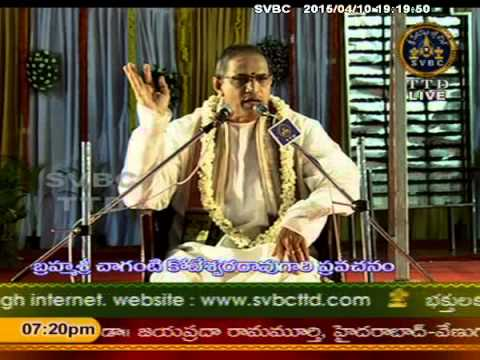 Svbc Ttd Sri Venkateswara Vaibhavotsavalu Guntur Live 10-04-15 video