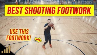 How to: Shoot a Basketball Correctly! The hop vs. The 1-2 Gather Shooting Footwork